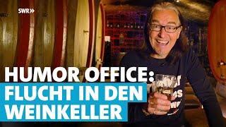 Pfälzer Chako Habekost flüchtet in den Weinkeller