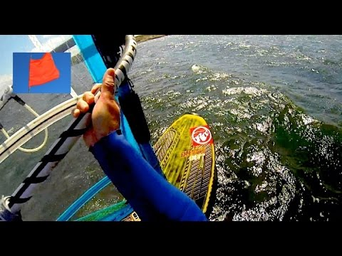 RRD Firemove 130 Ltd - Windsurfing in sunshine