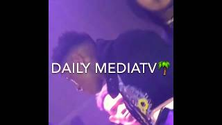 fight breaks out after a fan threw something at nbayoungboy