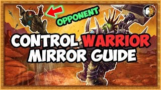 Hearthstone: Control Warrior Mirror Guide