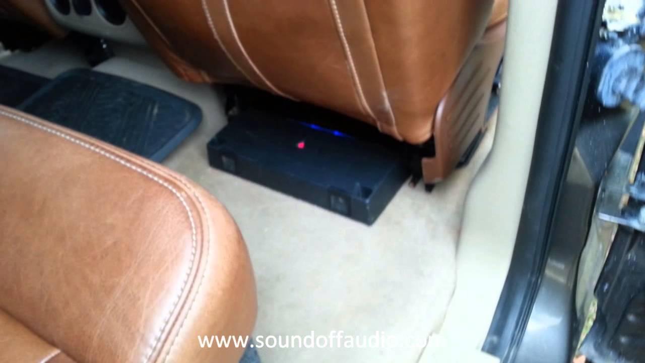 2006 F 150 Crew Cab Speaker Box Install Simple Setup Youtube