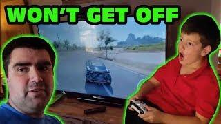 Kid Won't Get Off Forza Horizons 3 To Do Homework Skit