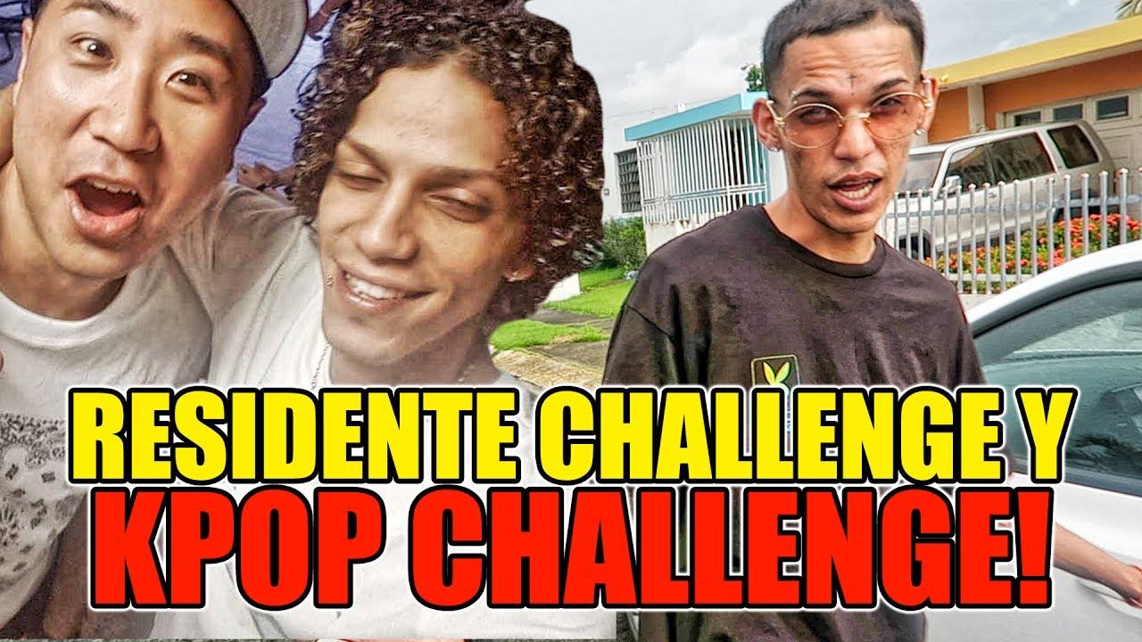 Jon Z Residente Challenge Coreano Loco Vlog