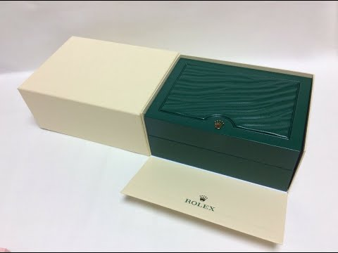 ROLEX WATCH BOX ROLEX S.A. GENEVE SUISSE 39139.04 - OYSTER M For Sale