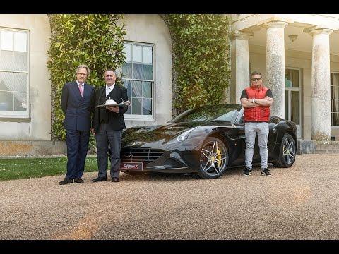 Ferrari California T Delivers Lord March's 'Full Throttle' Breakfast