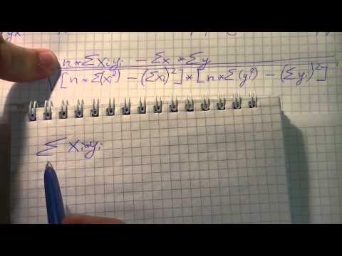 Эконометрика без галстука: практическое занятие №2 - расчёт коэффициента корреляции (начало)
