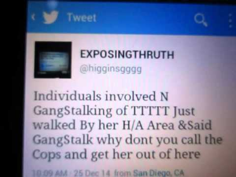 4/02/15 UCSD GangStalking of Learning Disabled woman to her Hiking area