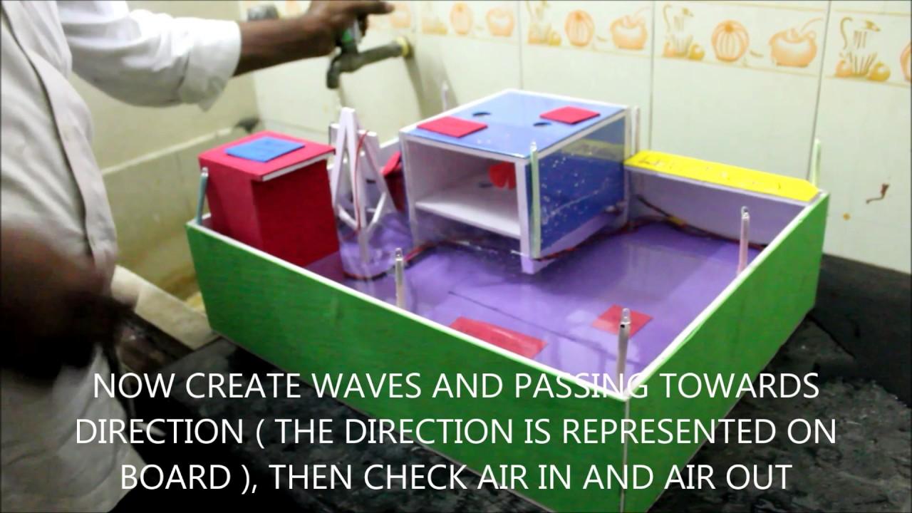 Wave Energy Working Model Youtube