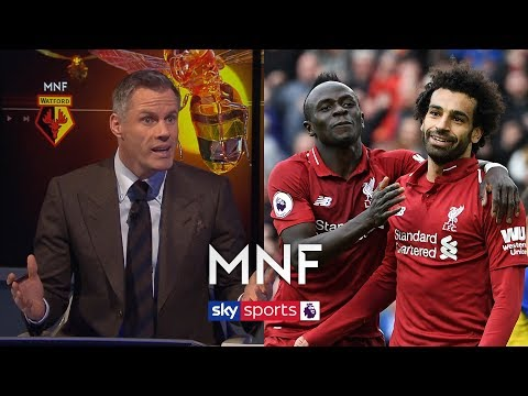 Gary Neville makes Jamie Carragher choose between Salah and Mane! | MNF