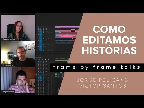 Como editamos histórias | Jorge Pelicano, Victor Santos