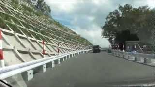 県道37号線 白河→羽鳥湖方面 2012.09.15【4倍速】