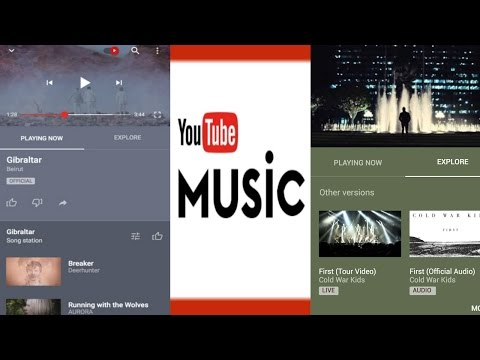 Youtube Music App launched for iOS and Android in U.S   QPT