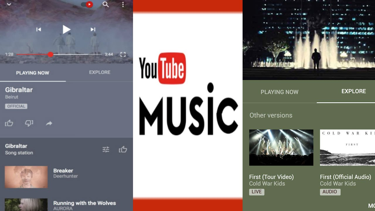 Image result for youtube app music