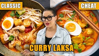 CURRY LAKSA - My Classic vs 15-min Cheat Version! | #CookWithMe | Marion's Kitchen