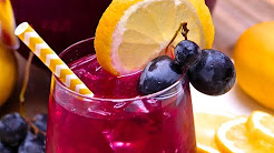 Dishes Menu-  Black Grape Lemonade
