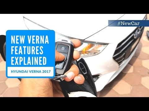 Hyundai Verna 2017   New Features