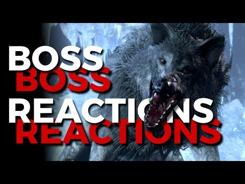 Boss Reactions | Dark Souls 3 | Champion's Gravetender & Gravetender Greatwolf