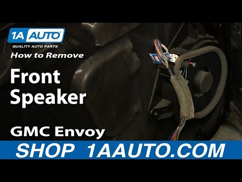 How To Install Front Speaker 02 06 Gmc Envoy Youtube