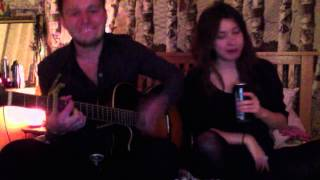 Ed Sheeran - Drunk Cover by Miracle Chance and Sandy Grigelis
