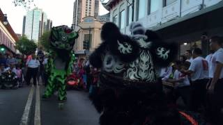 Honolulu Hawaii lion dance Chinatown