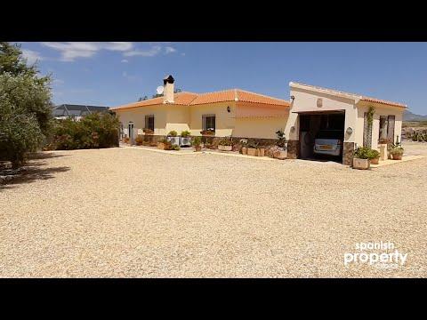 Spanish Property Choice Property Video Tour - Villa A605 Albox, Almeria, Spain. 218,500€