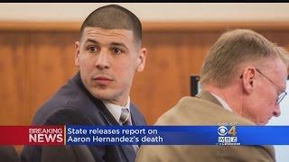 State Releases Report On Aaron Hernandez's Death