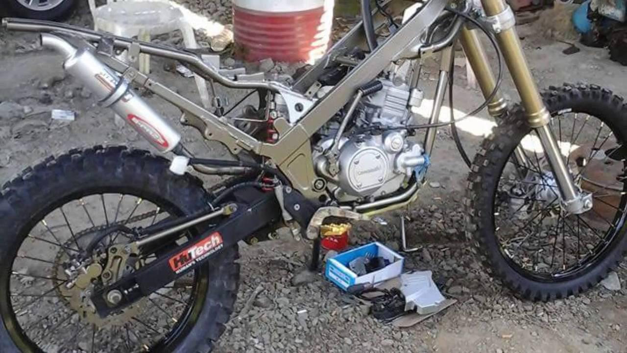 Modifikasi Motor Ninja Rr Jadi Trail Dunia Otomotif