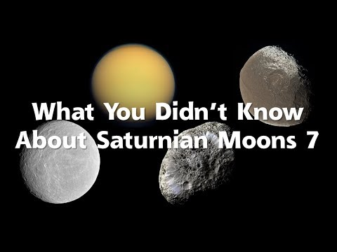 What You Didn't Know About Saturnian Moons 7 (Outer Large Moons)