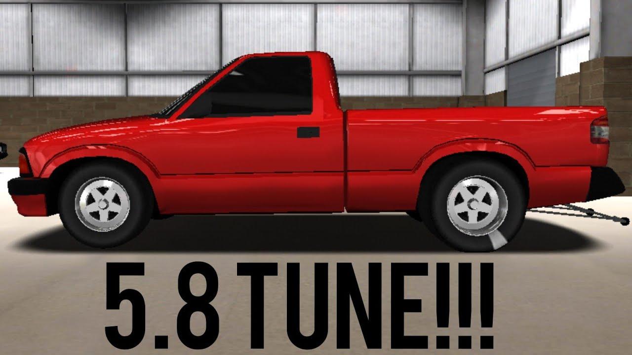 PRO SERIES DRAG RACING 5 8 TUNE!!! (S10)