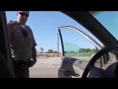 "Insane Sovereign Citizen ""Article 4 Free Inhabitant"" Loses It When Arrested"