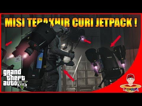 GTA V ONLINE DOOMSDAY (15) - PALING SUSAH !! MISI TERAKHIR CURI JETPACK !!