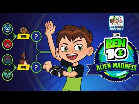 Ben 10: Alien Madness - Vote for your Favorite Omni-Enhanced Alien (Cartoon Network Games)