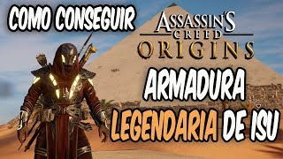 Assassin Creed Origins - Como Conseguir la Armadura Legendaria de ISU - Gameplay Español