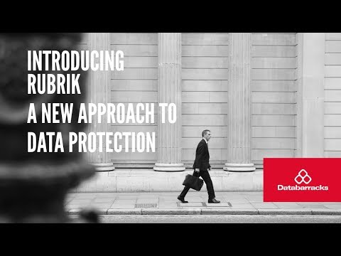 WEBINAR - Introducing Rubrik: A New Approach To Data Protection
