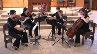 Pachelbel's canon in D - Eliana Strings - San Diego Wedding String Quartet