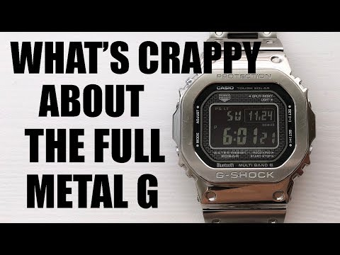 "Why The ""Full Metal G"" Isn't As Good As You Think: G-Shock GMW-B5000D-1 Review - Perth WAtch #305"