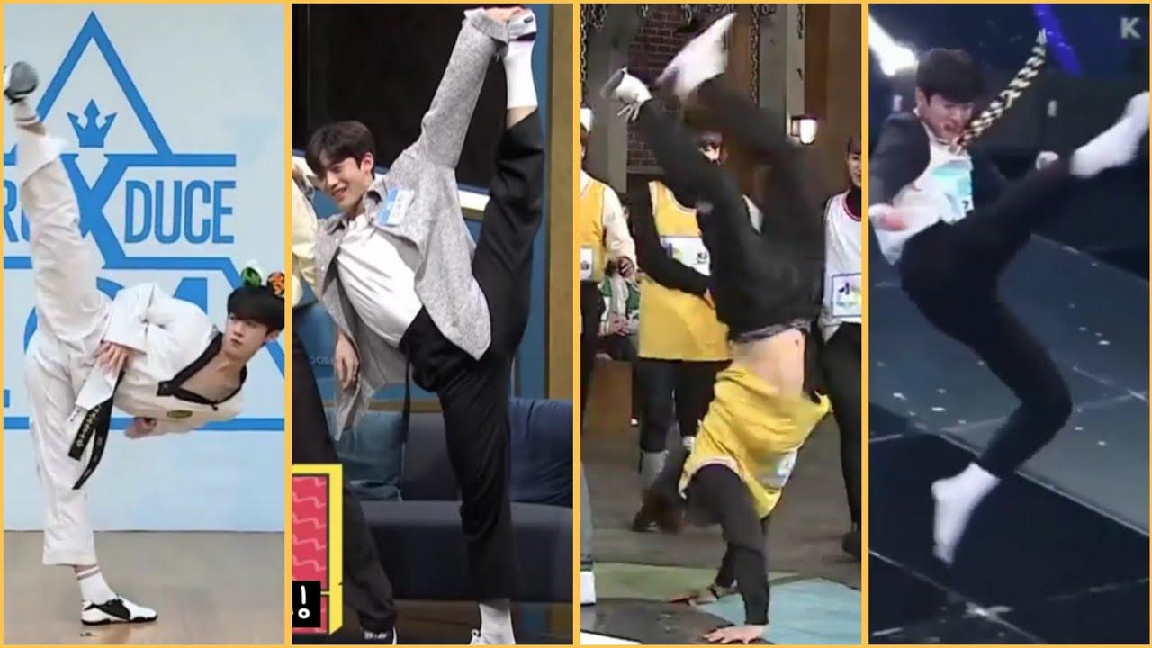 🦋 X1 Tumbling Flips Acrobatic Taekwondo [Hangyul Yohan Seungyoun]