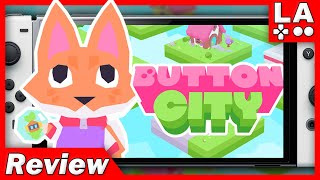 Button City Review | COZY WHOLESOME ADVENTURE (Video Game Video Review)