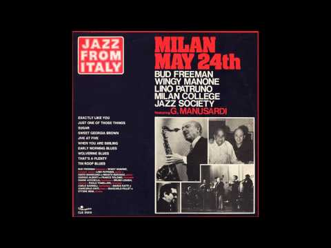 Milan College Jazz Society - Sugar (that sugar baby o' mine)