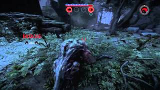 Playing as the monster brute Goliath, full match.