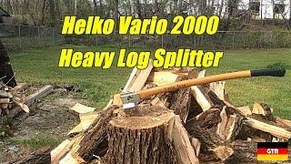 Helko Vario 2000 Heavy Log Splitter