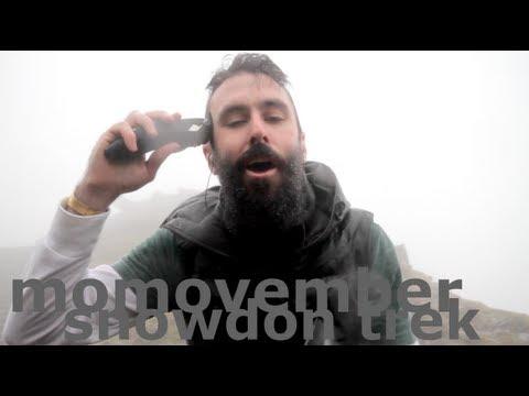 MoMoVember 2012 Mountain Trek - Scroobius Pip