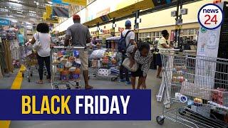 WATCH   Black Friday madness hits Mzansi