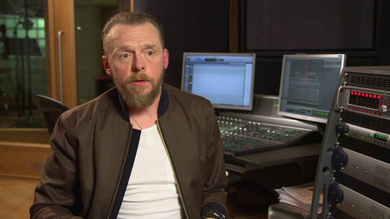 """Download Ice Age: Collision Course: Simon Pegg """"Buck"""" Behind the Scenes Movie Interview"""