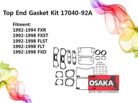 OSAKA MARINE, Harley-Davidson TOP END GASKET KIT 15-0622 17040-92A C9976 15-1209 15-0377