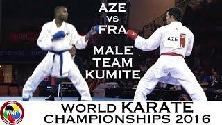 Video BRONZE (4/4) Male Team Kumite AZE vs FRA. 2016 World Karate Championships download MP3, 3GP, MP4, WEBM, AVI, FLV Agustus 2017