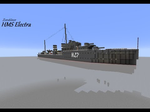 Minecraft HMS Electra Promotion + Download