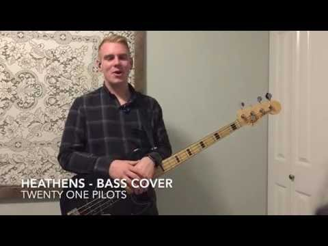Heathens - Twenty One Pilots - Bass Lesson, tutorial, and Cover