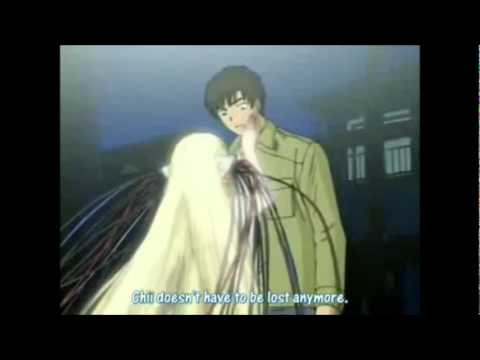 Chobits Chii x Hideki Kisses - YouTube