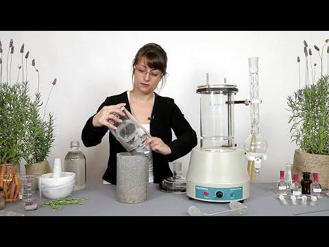 Cómo Obtener Aceites Esenciales Del Extractor Semi-Laboratorio